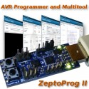 ZeptoProg II USB AVR Programmer and Multitool (AVRISP mkII compatible, ISP/PDI/TPI)