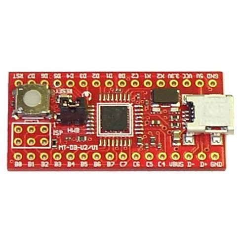 AT90usb162 development board