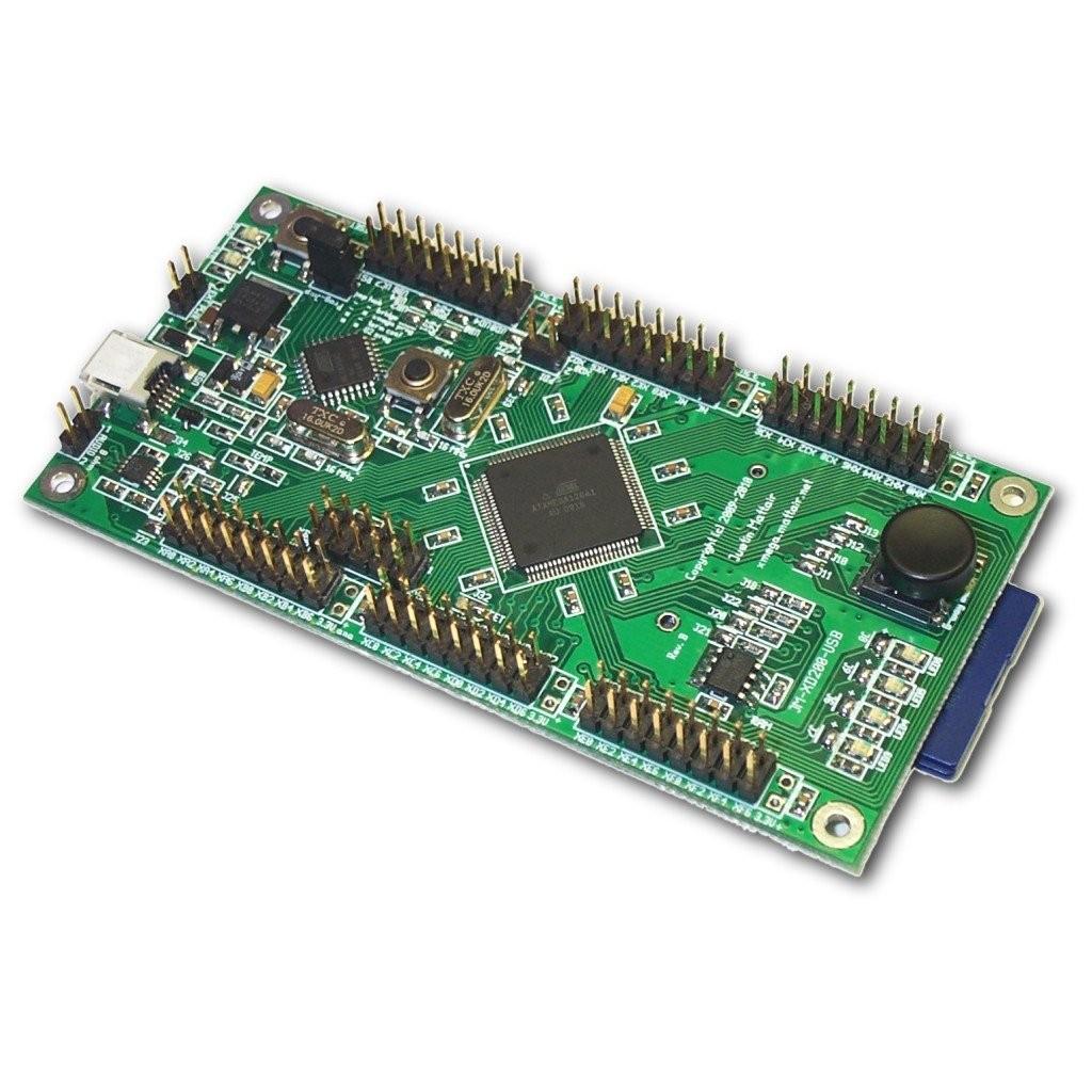 Atxmega128a1 Development Board Usb Player Circuit Diagram Also Pic Programmer On Avr Jm Xd200 1024px